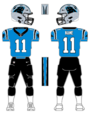 Panthers alternate uniform