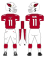 Cardinals color uniform