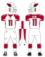 Cardinals white uniform