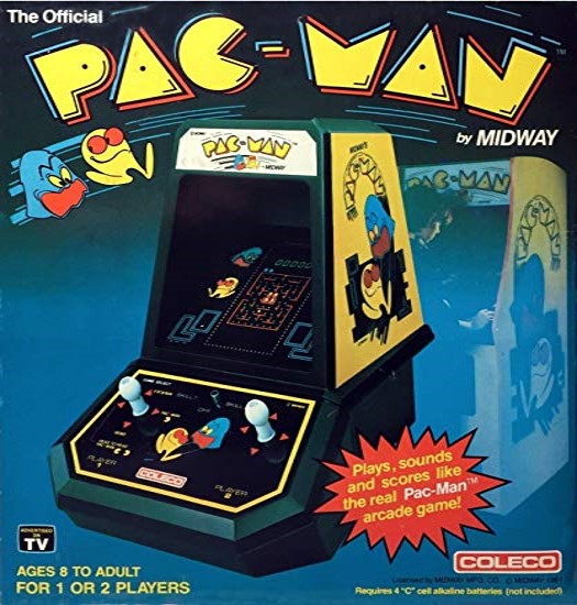 Miraculous Pac Man Coleco Tabletop Pac Man Wiki Fandom Powered By Download Free Architecture Designs Itiscsunscenecom