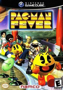 Pac-Man Fever box art