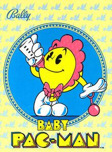 BabyPacManpinball 1982 500