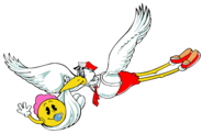 Babypac-stork