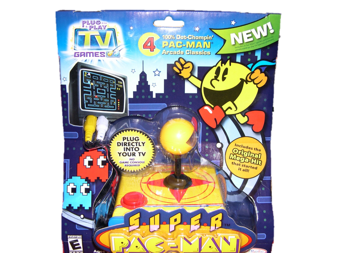 Tv Games Plug Into : Plug n play tv games pac man wiki fandom powered by wikia