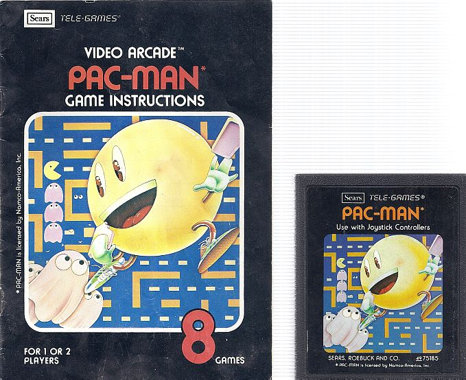 Image result for ATARI PACMAN GAME