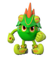 Chameleon Pac-Man (Pac-Man and the Ghostly Adventures 2 Official Render)