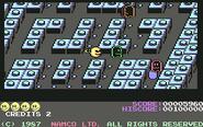 Pacmania c64
