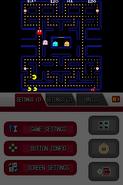 Namco Museum DS - Pac-Man (horizontal aspect ratio, sharp) (DeSmuME 0.9.11)
