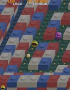Pacmania arcade