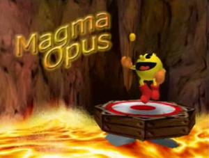 Magma Opus Title Screen
