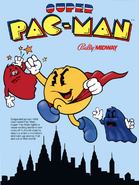 Americian Super Pac-Man Flyer