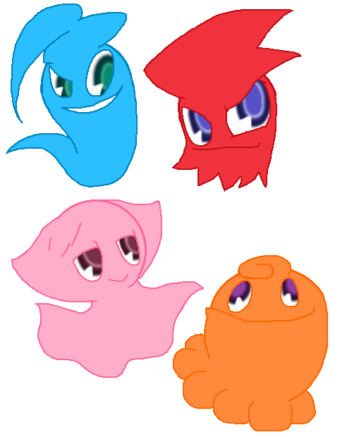 Image - Ghost Gang Color.png | Pac-Man Wiki | FANDOM powered by Wikia