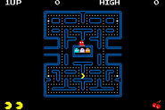 Pac-Man Collection - Pac-Man (GBA) (full screen) (NO$GBA v2.8d)