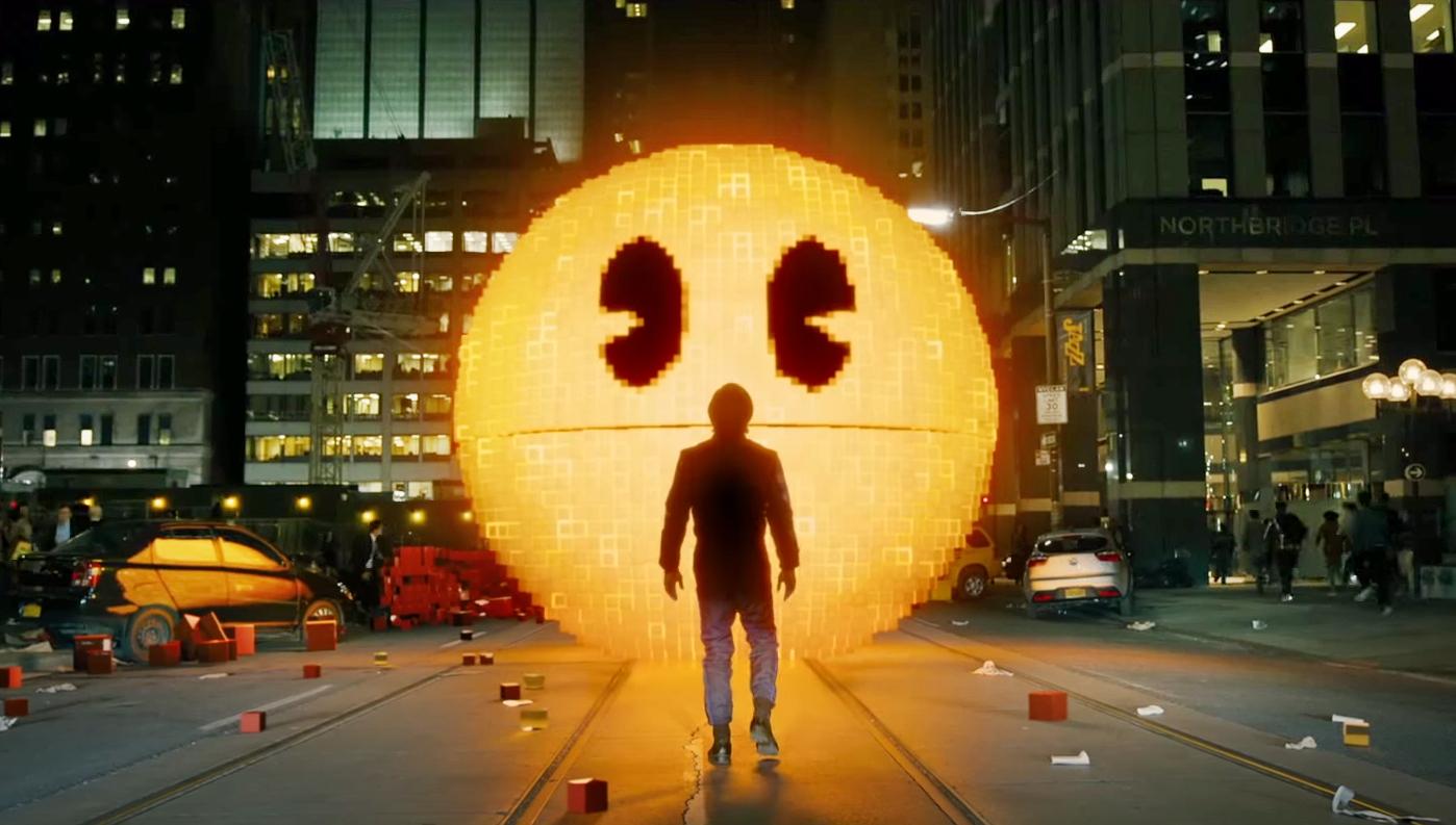 Pixels | Pac-Man Wiki | Fandom