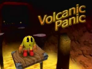 Volcanic Panic Title Screen