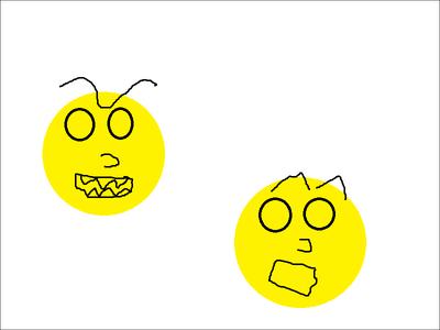 Lac-Man Chasing Pac-Man