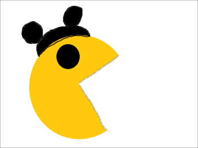 Mickey Mouse Pac-Man