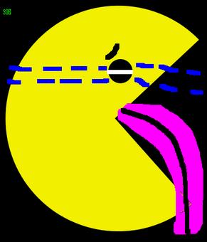 Pacman sobbing