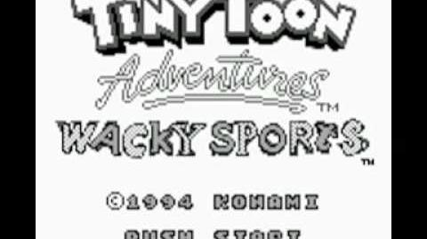 Tiny Toon Adventures - Wacky Sports (GB) Music - Title Theme