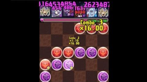 【パズドラ】英雄神 最大火力配置 使用方法説明+デモ