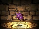 Violet Demon Mask