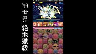【パズドラ】 第一回ゼウスチャレンジ! 全五ステージ (3倍速)