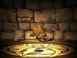 Golden Demon Mask