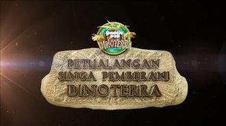 Trailer Petualangan Singa Pemberani Dinoterra 2D