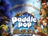 "Augment Reality Game ""Paddle Pop Magilika"""