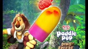 Paddle Pop Dino Freeze - TVC