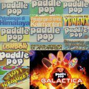 Paddle pop comic