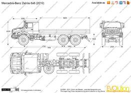 Mercedes-benz zetros 6x6 2010