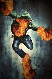 Bailarín de fuego
