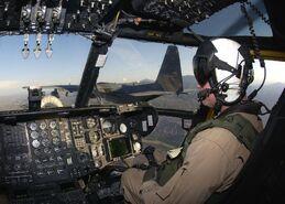 CH-53E cockpit