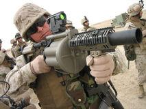 Militar lanzagranadas