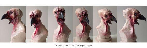 Hombre pollo mutante