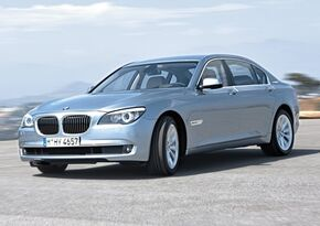 Frontal BMW ActiveHybrid 7 1