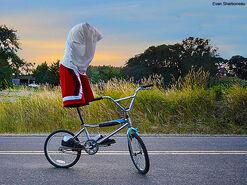 Ciclista invisible