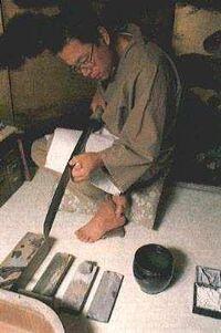 Fabricación de katanas
