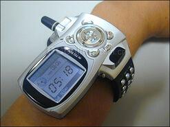 Reloj movil de pulsera