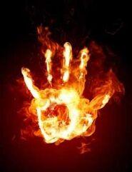 Mano de fuego