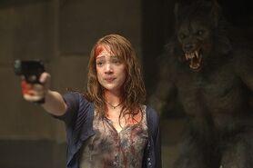 Hombre lobo ataca