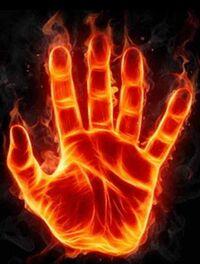 El poder del fuego en la palma de mi mano