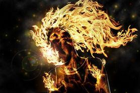 Mimetismo fuego