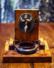 Altar de ofrendas y sacrificios portable