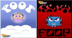 Poof e Foop background