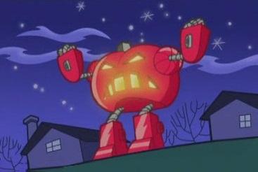 Calabaza Robot Rubi