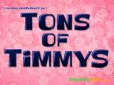 Toneladas de Timmy