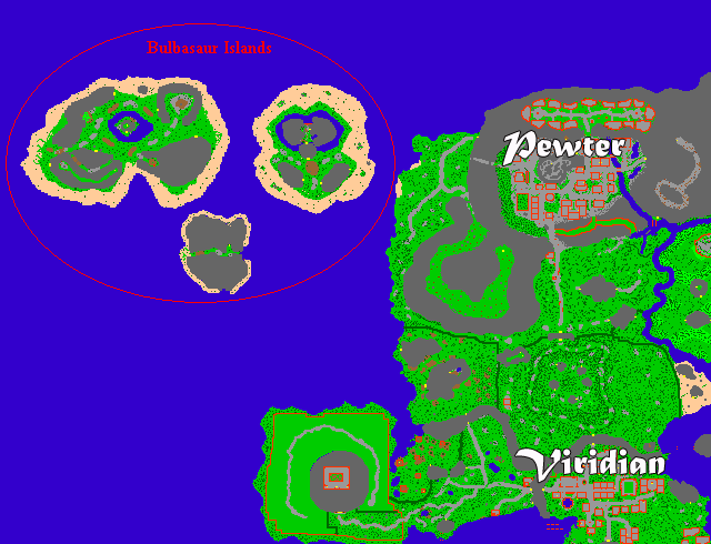 Bulbasaur Island
