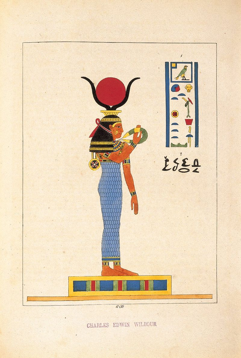 The Great Goddess Hathor